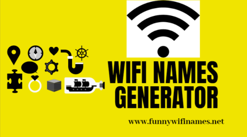 Wifi names generator tools