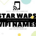 Star Wars Wifi Names for your router network SSID 2020