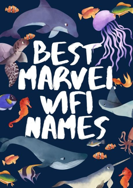 Marvel Wifi Names
